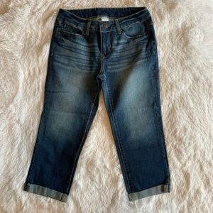 Time And Tru Capri Cropped Jeans Size 6